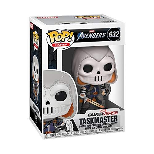 Funko Pop! Marvel: Avengers Game - Taskmaster,Multicolor,3.75 inches