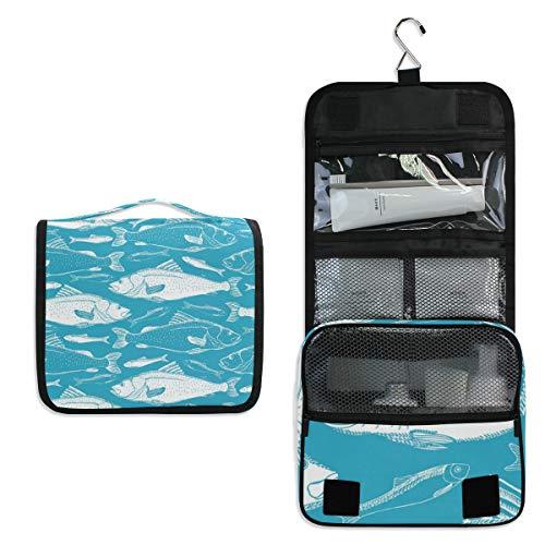 Trousse de toilette de voyage à suspendre pour maquillage, sac de maquillage multifonction pour femme et fille
