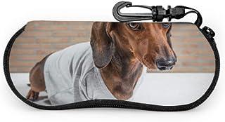 Leichte Tragbare Sonnenbrillenetui Lustige Welpen Beagle