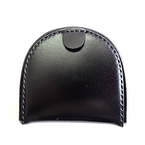 コードバン コインケース(馬蹄型小銭入れ) SN-1 (日本製) サイフ ウォレット 馬革 CORDOVAN (ブラック)