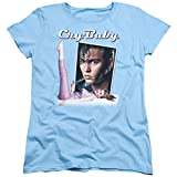 2Bhip Cry Baby Johnny Depp Romantic Musical Comedy Movie Title Women s T-Shirt Tee Blue