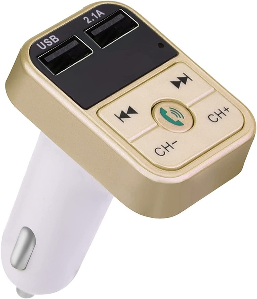 QAZWX Dedication BINZHANG Max 87% OFF FM Transmitters LCD Player USB MP3 Charger Bl