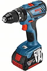 Bosch Professional 18V System Battery Impact Drill GSB 18V-28 (incl. 2x 5 Ah accu + lader, in L-Boxx)*