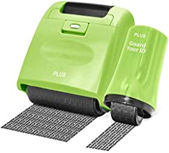Identity Theft Prevention Security Stamp Wide Roller Security Stamp Kits (Green)