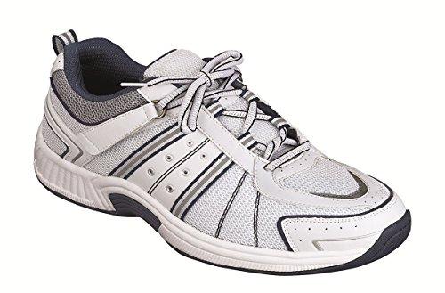 Orthofeet Best Plantar Fasciitis Pain Relief Diabetic Shoes. Extended Widths. Orthopedic Men