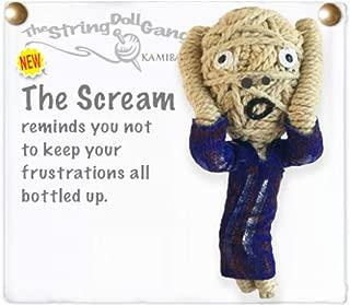 Kamibashi The Scream Painting The Original String Doll Gang Keychain Clip