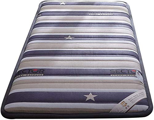 ZXL 150x200cm Futon matras Tatami vloermat, traditionele Japanse Futon Japanse bed Königin-König Wohnheim dunne matras topper wasbaar (kleur: Engel)