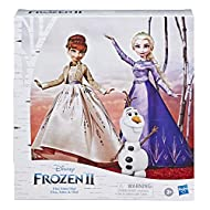 ANNA AND ELSA FROM FROZEN DE DISNEY: Famous characters from Disney Frozen movies, these classic Anna and Elsa dolls present their signature hairstyles BEAUTIFUL SETS AND ACCESSORIES: Anna and Elsa wear sets inspired by the beautiful outfits they wear...