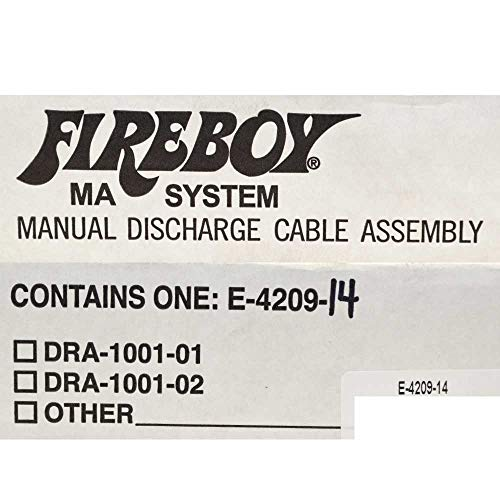 Manual Discharge Cable, 14' - Fireboy