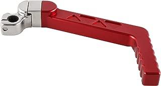 JRL CNC Kick Start Starter Lever Red for Honda XR50 CRF50 XR70 CRF70 50cc 70cc 110cc 125cc Pit Bikes and SDG SSR Baja Pitster Taotao Coolster Lifan Loncin