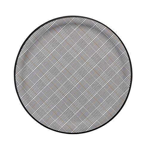 PLATEX 90045828 Plateau Plastique-Walles, Gris-Blanc, 45cm