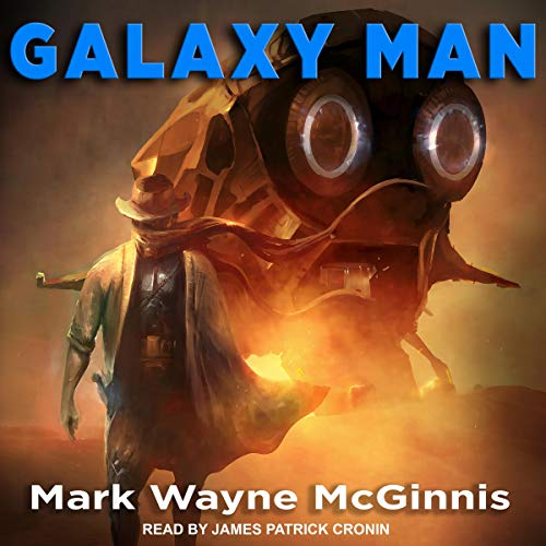 Galaxy Man audiobook cover art