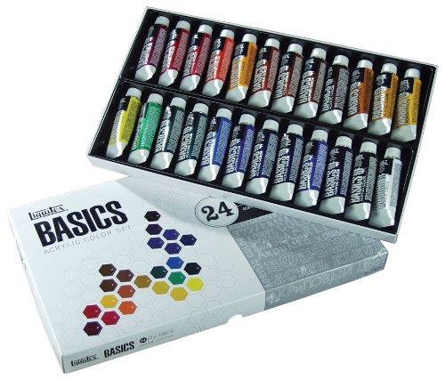 Liquitex BASICS 24 Acrylic Paint Set