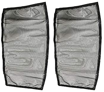 Nispira Tower Fan Air Filter Screen Compatible with Lasko Wind Curve 2554 2551 2559 Ozeri Cascade 40  Honeywell Fresh breeze Quietset Holmes TaoTronics and More 2 Filters