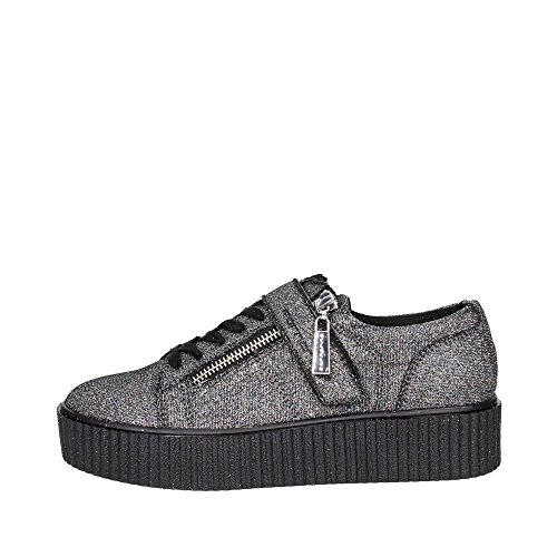 Fornarina PIFTI9572WJA Sneakers Donna Tessuto Grey Glitter Grey Glitter 40