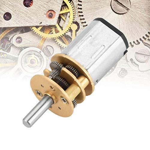 caihv-Motor de corriente continua duradero, Motor de reducción DC 3V 6V 12V, motor de engranaje de velocidad de 15 a 500 orpm N20, motor reductor de engranajes para el modelo de robot de automóvil, Ac