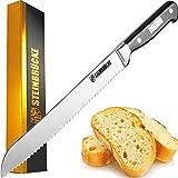STEINBRÜCKE Serrated Bread knife 10 inch - Ultra sharp Bread...