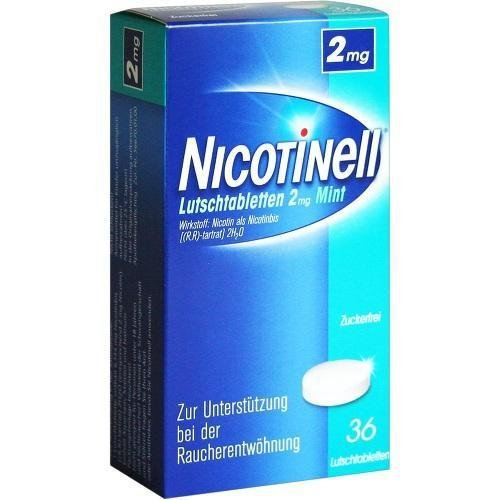 Nicotinell 2 mg Mint Lutschtabletten, 36 St.