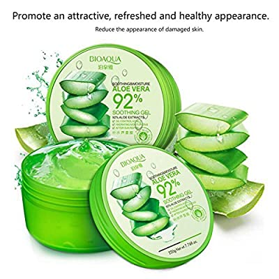 WSX Anti Acne Treatment Scar Removal Face Cream Whitening Moisturizing Aloe Vera Gel for Facial Care Face Mask