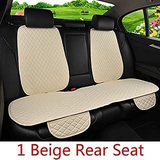 Asiento de coche cubierta suave cómoda del terciopelo de algodón Mantener caliente universal for el frente del asiento de coche cojín y Otoño Invierno asiento accesorios del coche Protector (Color: gr