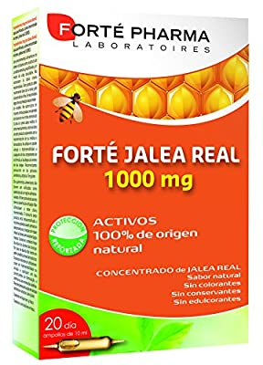 Forté Royal Jelly 1000 mg 20 Phials of Forté Pharma