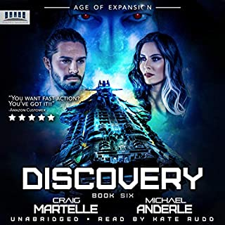 Discovery: A Military Space Opera audiobook cover art
