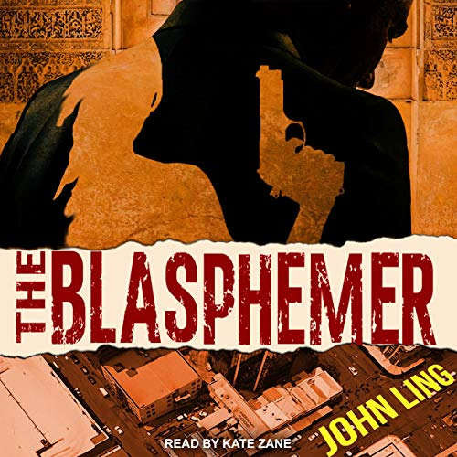 The Blasphemer audiobook cover art