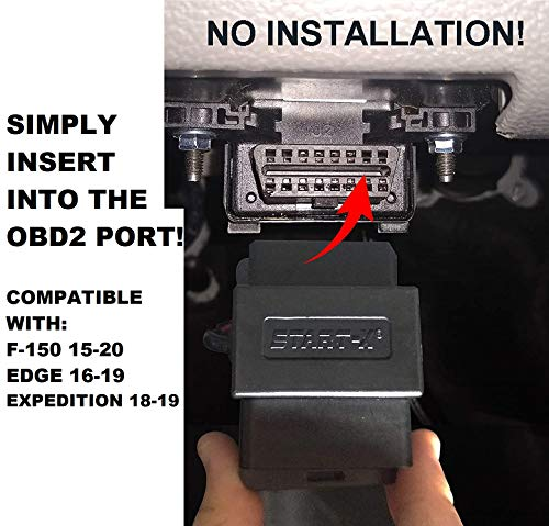 Start-X Remote Start Starter For Ford F-150 2015-2020, Edge 16-19, Expedition 18-19, || Plugs in to OBD2 Port || No Installation Required || Will Not Work With Any Non Listed Vehicles