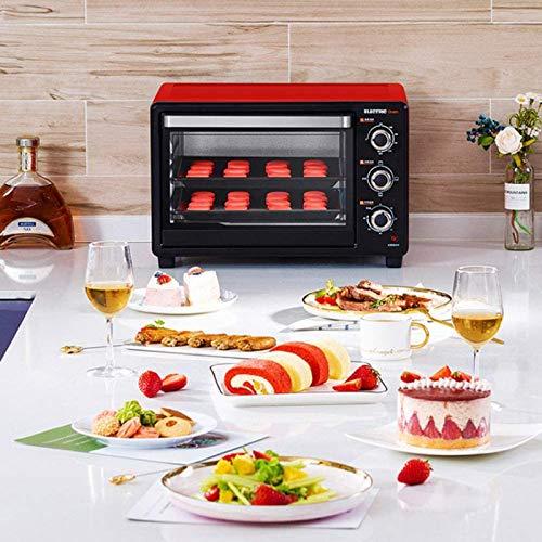 51yAMbYcVVL. SL500  - 30-Liter-Multifunktionsherd, Mini-Ofen-Funktionen, 1500W Leistung, leicht zu reinigendes Futter, Minute Timer, kann Pizza, Toast, Bagels, Pizza, gefrorene Snacks backen