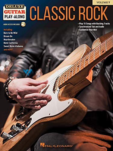Classic Rock: Deluxe Guitar Play-Along Volume 7 (English Edition)