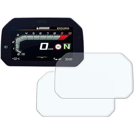Speedo Angels Dashboard Displayschutzfolie Tachoschutzfolie Für R1250 Gs 2018 1 X Ultra Klar 1 X Entspiegelt Auto