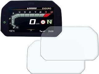 Speedo Angels Dashboard Displayschutzfolie Tachoschutzfolie für R1250 GS (2018+) 2 x Entspiegelt