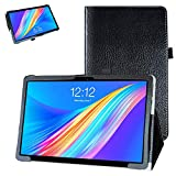Bige for TECLAST M16 Tablet Case,PU Leather Folio 2-Folding Stand Cover for TECLAST M16 11.6 Inch 4G Tablet PC,Black