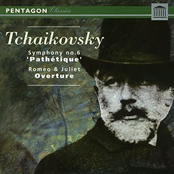 "Tchaikovsky: Symphony No. 6 ""Pathetique"" - Romeo & Juliet Overture-Fantasia"