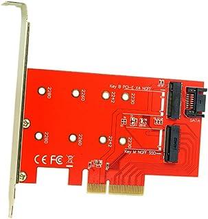 M.2 NGFF 4 Lane SSD a PCI-E 3.0 x4 NGFF a SATA Adapter para XP941 SM951 PM951 A110 m6e SSD