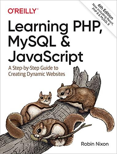 Learning PHP, MySQL & JavaScript (English Edition)
