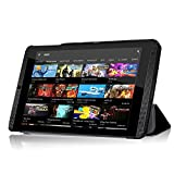 NVIDIA Shield K1 8-Inch Funda – IVSO Slim Smart – Carcasa para Nvidia Shield K1 – Tablet Negro For NVIDIA Shield K1-8-Inch