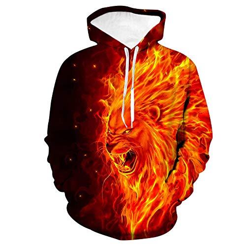 x8jdieu3 Hoodie männliche 3D Pullover Tier Digitaldruck Männer und Frauen Mode Größe Baseball Uniform Paar Jacke Sweatshirt