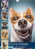 Funny Faces - Lustige Hundebilder (Wandkalender 2020 DIN A4 hoch) - Manuela und Stefan Kulpa