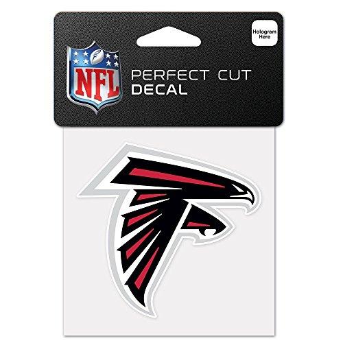 WinCraft NFL Atlanta Falcons 63036011 Perfect Cut Color Decal, 4