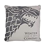 Game of Thrones – Cojín – Stark – Casa Escudo Logo – 46 x 46 cm – Impresión por ambos lados...