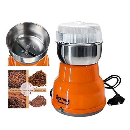 Iwähle Kaffeemühle 300W - Multifunktions-Smash-Maschine für Kaffeebohnen, Mais, Getreide, Kräuter, Gewürze, Nüsse, mit Edelstahlmesser Kaffeemühle