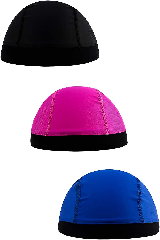 PZLE Mens Skull Caps Cycling Helmet Liner Sweat Wicking Beanie