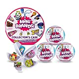 5 Surprise Mini Brands Collector's Kit Series 1 - Amazon Exclusive Mystery Capsule Real Miniature Brands by Zuru (3 Capsules + 1 Collector's Case)