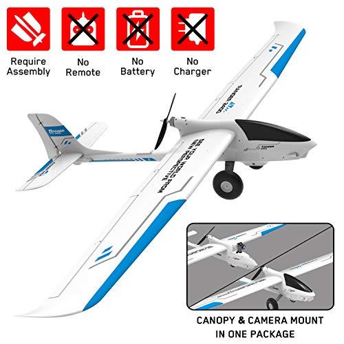 VOLANTEXRC FPV RC Glider Airplane, 2400m Remote Control Plane NO Remote NO Battery, Electric Radio Control Sailplane FPV Ranger 2400 for Adults (757-9 PNP)