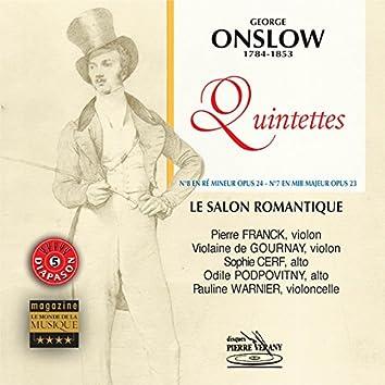 Onslow : Quintettes Op. 23 & 24