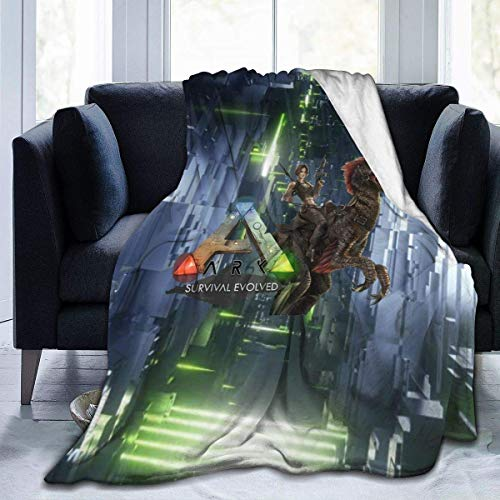 Yesbnow Ark Survival Evolved Soft and Warm Anti-Pilling Micro Fleece Blanket 3D Art Cozy Blanket 60