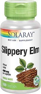 Solaray Slippery Elm Bark 400mg | Healthy Respiratory Tract Function, Throat Comfort & Gastrointestinal Support | Non-GMO ...
