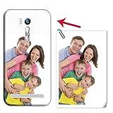 Mixroom Coque personnalisée avec votre photo étui en TPU silicone souple pour Asus divers modèles