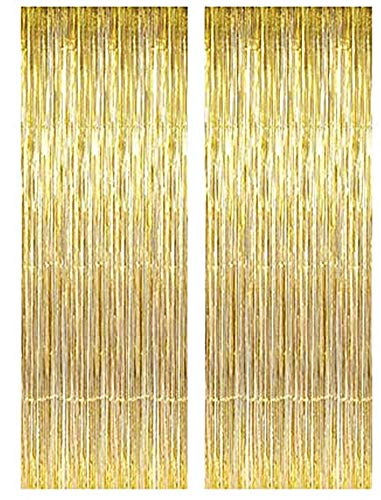 Lovelegis Party tents - birthday - metal - fringes - window fittings - doors - 1.90 x 1 m long - yellow color - pack of 2 - christmas and birthday gift idea